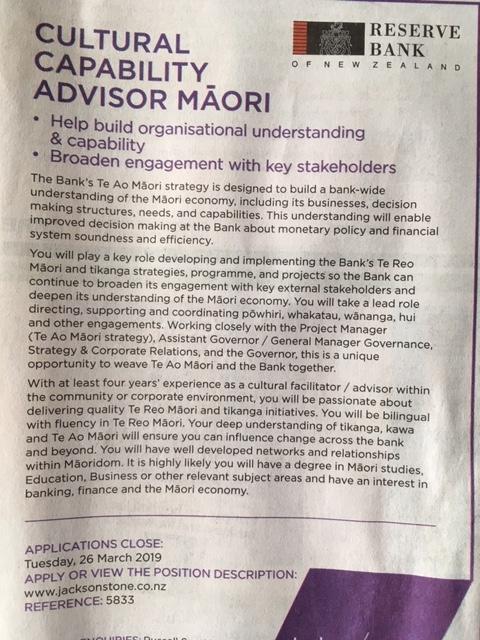 RB maori advert